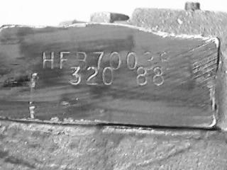 hfb70 stamp